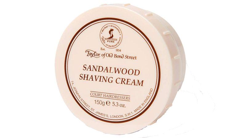 crème rasage Taylor of Old Bond Street bois de santal