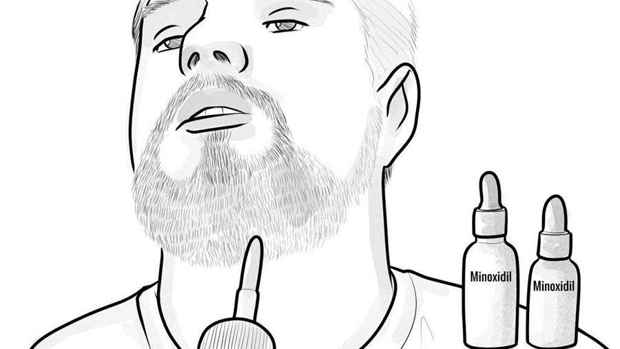 produits qui aident la croissance de la barbe