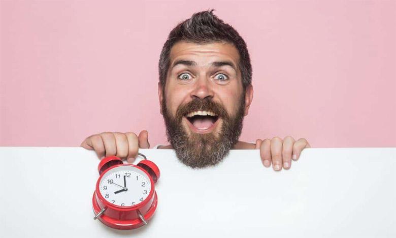 bénéfices du temps pousse barbe