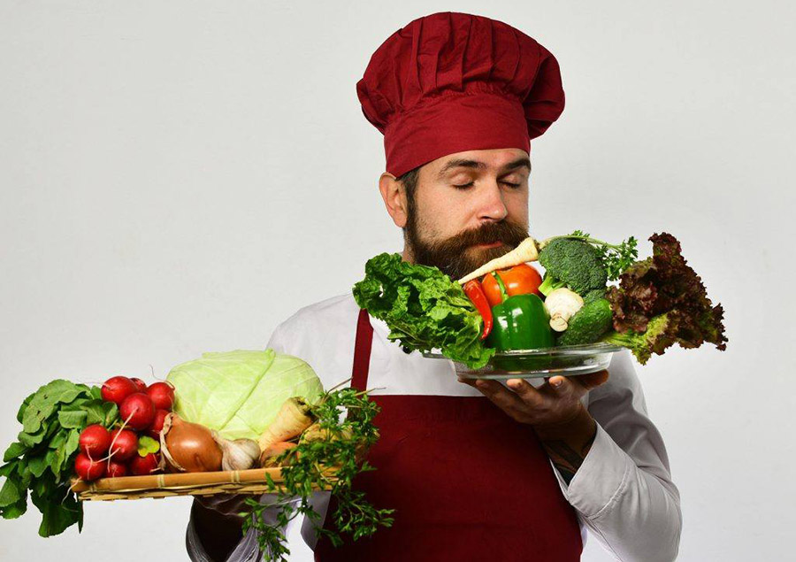alimentation saine barbe